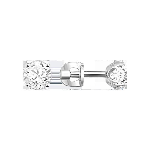 Earrings in Silver 925 Swarovski Zirrconia