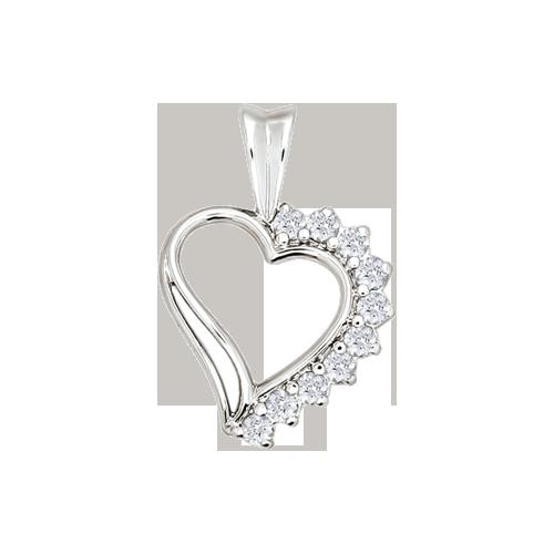 Pendants in Silver 925 - Zirconia